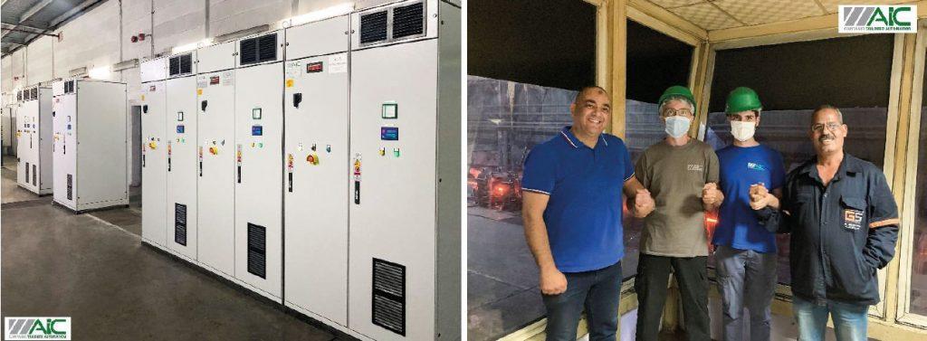 AIC upgrades DC drives at El Garhy Steel in Egypt