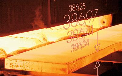 轧板机光学测量系统