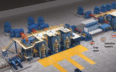 达涅利万能无头连铸连轧–DUE®–技术 和在中国的最新设施