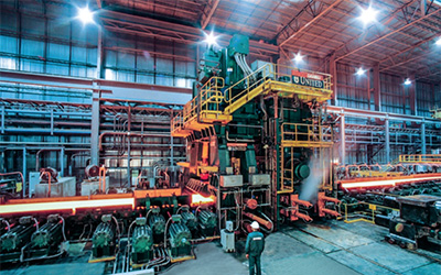 The new benchmark heavy-plate mill project at Nucor Steel Brandenburg