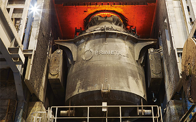Boosting productivity and quality in stainless steelmaking with an AOD converter