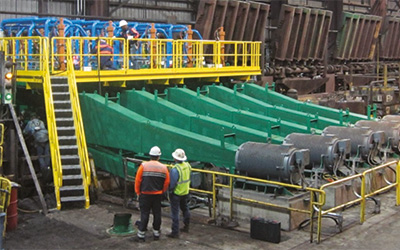 Innovative direct quenching at Nucor Steel, Tuscaloosa