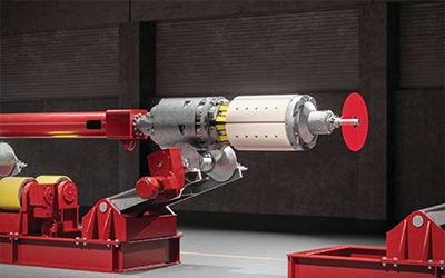 Laser technology facilitates pipe sizing: A laser-based system enhancing precision and reducing processing time