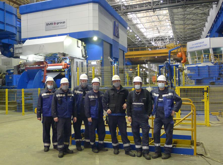 MMK rolls first coil on two-stand Compact Cold Mill