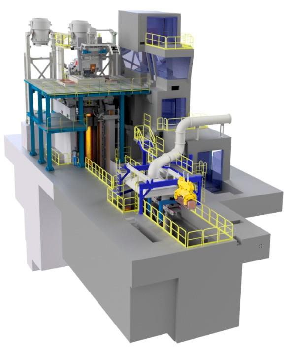NPO places order for Vertical Semi-Continuous Caster VERSCON with SMS Concast