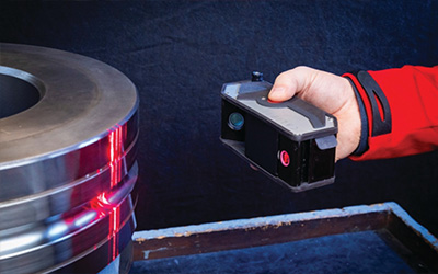 Optimizing production and quality in long products rolling mills with laser gauges