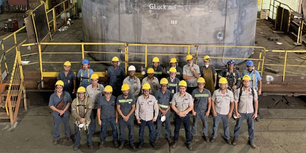 Second BOF replacement for Brazilian integrated steelmaker